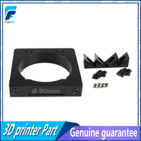 High Quality CNC Router Add On Mouting kit 80mm Aluminum Router Spindle Mount kit for Workbee OX CNC Makita RT 0700C