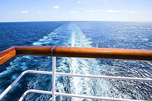 Круизный корабль двухслойные Фоны для продажи виниловых ткань высокого качества Компьютер Отпечатано морской фото фон ...