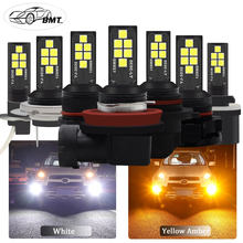 BMT H8 H11 H7 H1 H3 Led Canbus 9006 HB4 HB3 H16 5202 PSX24W h27w2 H27 881 P13W Led Bulb Car Fog Light 1400LM Auto Lamp Bulbs(China)