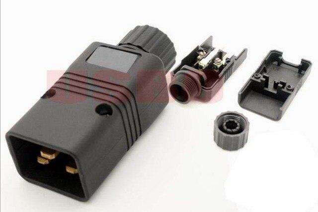 Black Copper 16A 250V Standart UPS PDU APC computer server