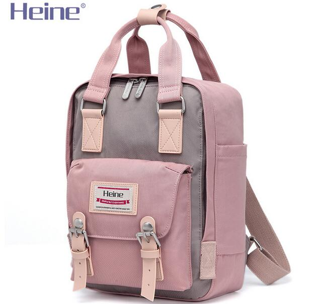 Heine Small Nylon Mummy Diaper Bag Backpack Baby Care Travel Nappy Chagning Mom Maternity Nursing Organizer Stroller 21*9*29CM quelle heine 140868