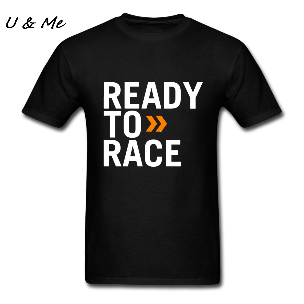 T-Shirt Mens Prêt à Course t-shirt Pur Coton Vêtements Punk t-shirt Lettre Art Casual T Shirt Homme Site Web