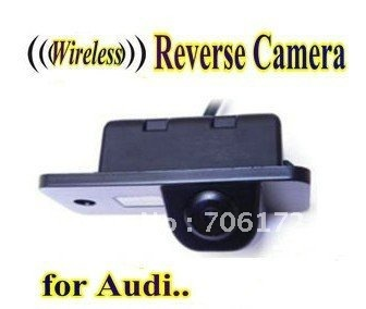 WIRELESS Special Car Rear View camera Reverse rearview Camera parking backup for AUDI A3 S3 A4 S4 A6 A6L S6 A8 S8 RS4 RS6 Q7