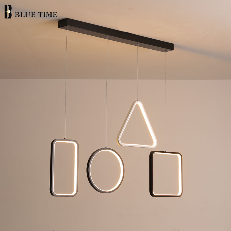 Decoration Modern LED Pendant Light For Living Room Dining Room Kitchen Home AC110V 220V Simple LED Pendant Lamp Hanging lamp modern simple diy pendant lamp living room dinning room pendant light home decoration lighting ac 110v 220v e27