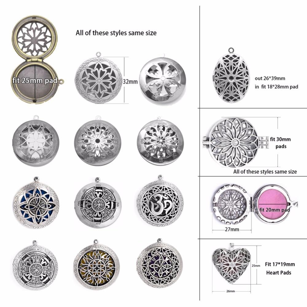 1пц 70цм Винтаге Ароматерапиа Парфум - Модни накит - Фотографија 3