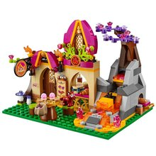 BELA Elves Elf Azari and magic of bakery Building Blocks Kits Model Toys Bricks Marvel minifigures compatible legoe