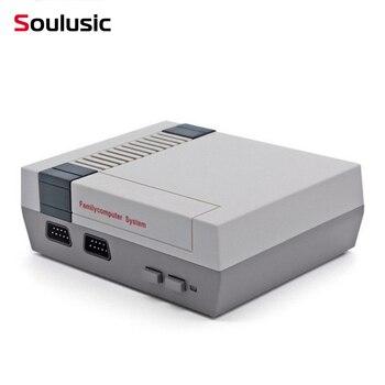 Mini consola de juegos de TV Soulusic, consola de videojuegos Retro de 8 bits integrada en 620, juegos de mano con jugadores, el mejor regalo
