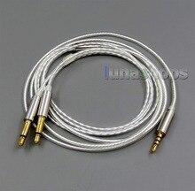 LN006067 чистый посеребренный кабель для Final Audio vi iречная AK T1P Denon AH D600 D7100 Velodyne vTrue