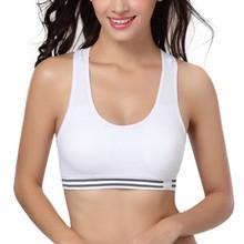 Women Professional Sport Bra Fitness Padded Stretch Workout Bra Gym Training Running Tank Vest Underwear  Quick Drying Breathble цена