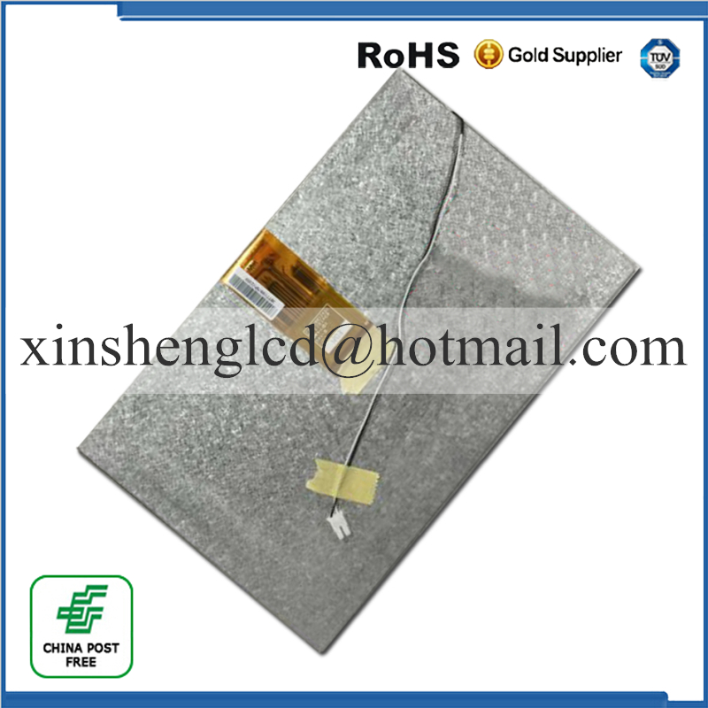 (Ref:73002001242C E203460 )New 10.1 inch 60pinLCD Screen Panel for Tablet PC LCD Display