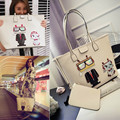 JUHM New Channel TV Lin2 Xin Such As Galeries Lafayette and Single Shoulder Bag To Send Zero Purse Printing Female Bag