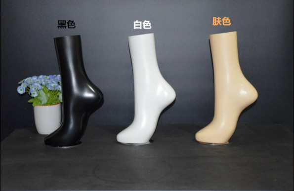 Free Shipping!! High Quality Fashionable Style New Mannequin Foot Manikin For Display mannequin