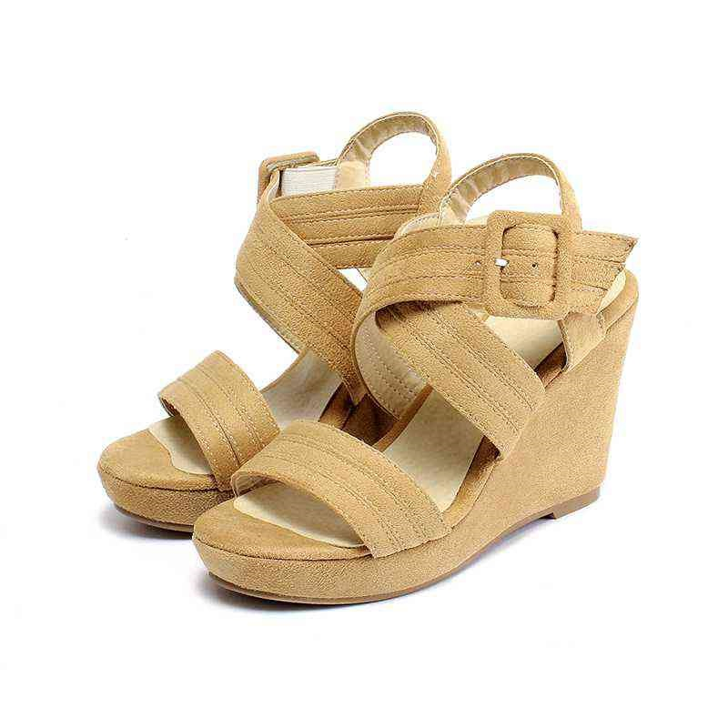 Popular Nude Wedge Sandal-Buy Cheap Nude Wedge Sandal lots from ...