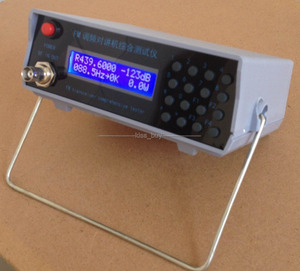 Image 3 - RF signal generator FM Power CTCSS Frequency Meter Tester Transmit receiver
