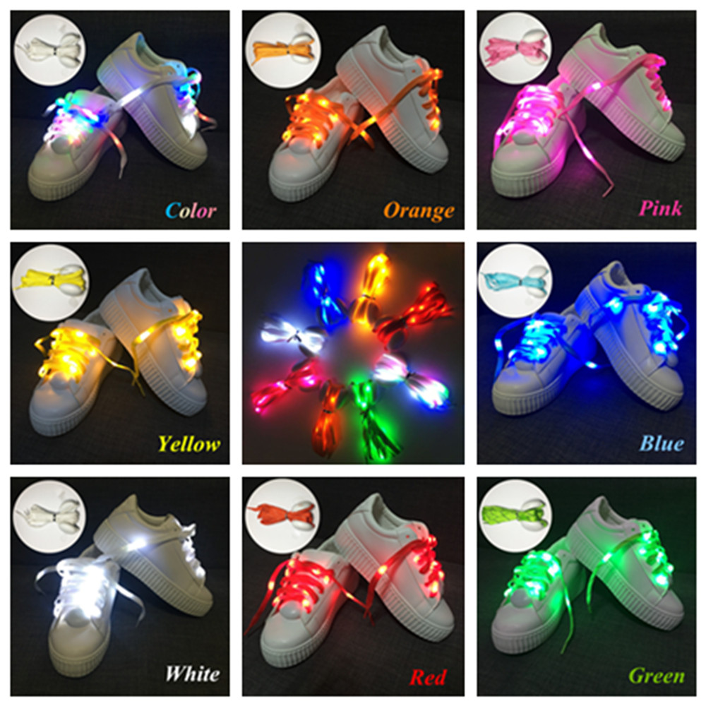 NEW 2M 20 led shoelaces light  for christmas festival home party decoration color fashion 4