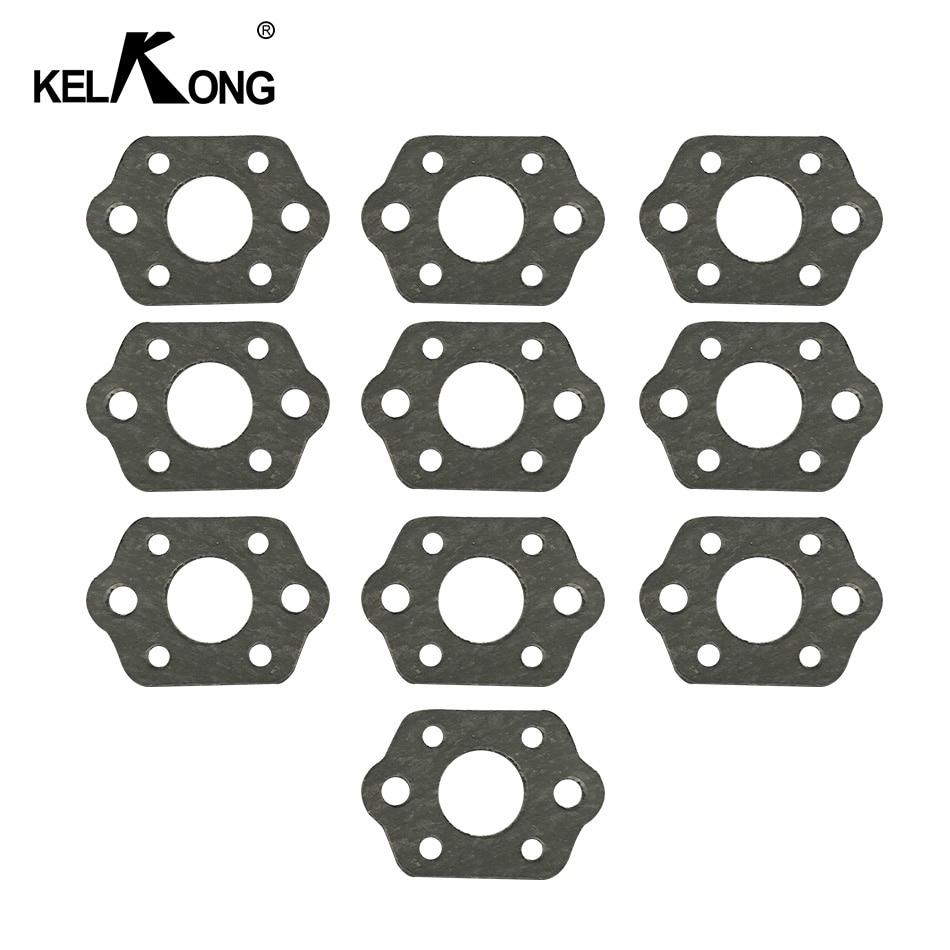 KELKONG 10 Pcs Carburateur Silencieux Joint Kit Pour STIHL MS 180 170 MS180 MS170 018 017 Tronçonneuse Pièces De Rechange
