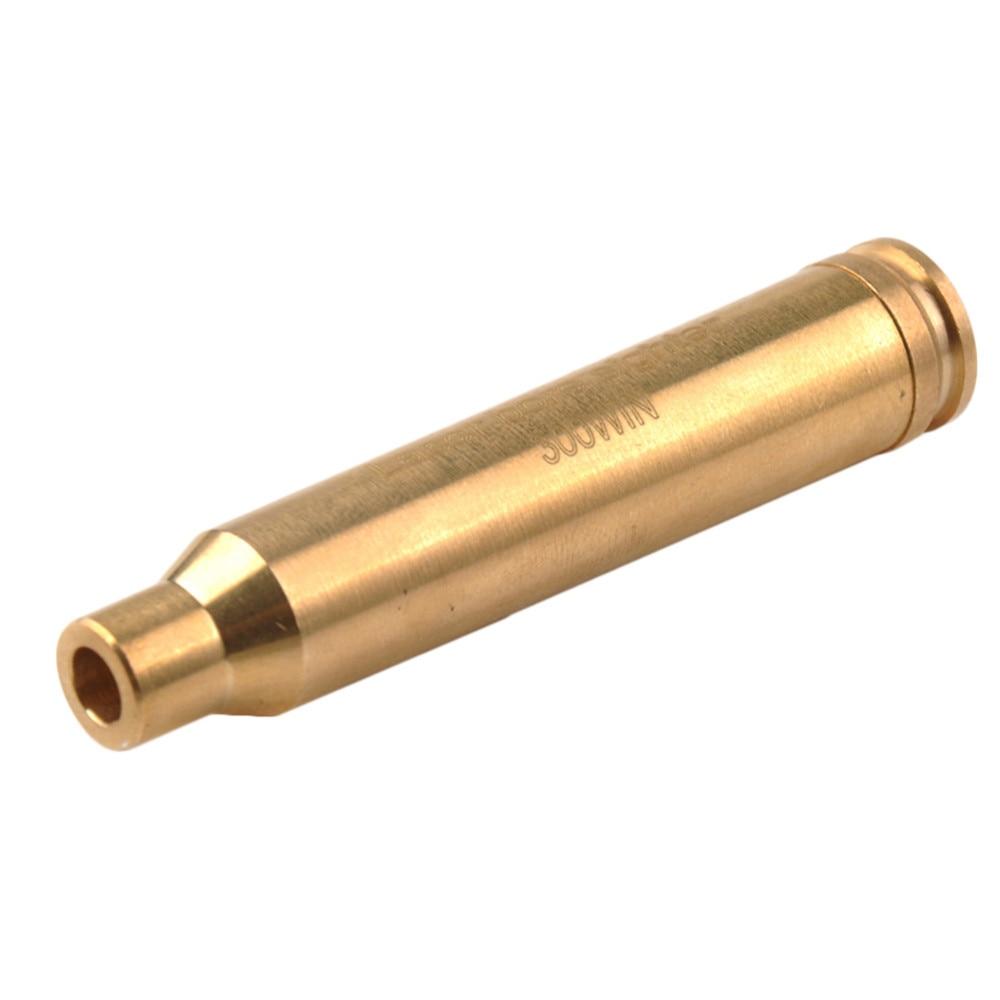 38 פליז Red Dot לייזר Boresight CAL Cartridge נשא Sighter 9mm ציד היקף 0.308 0.223 6.5x55 0.38 7.62x39 7.62x54 0.300 7x57R B4 (3)