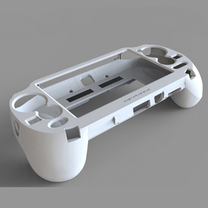 Image 3 - 2in1 kılıf kapak PSV 1000 kolu L2 R2 tetik L3 R3 tetik PS VITA 1000 Slim oyun konsolu için ps4 pc Gamepad aksesuarları