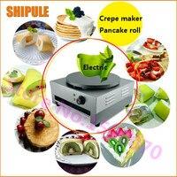 Snack food machine new products single head crepe machine electric crepe making pancake machine