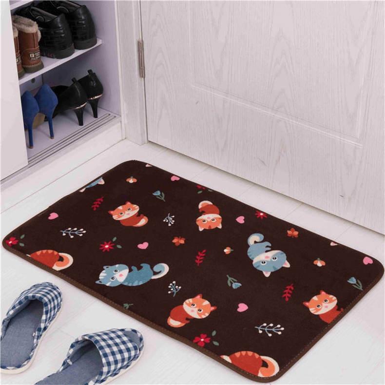 Color : Color 7, Tamaño : Small Home Store Baño 3 Piezas Baño Antideslizante Juego de Alfombrilla Antideslizante Estera de baño Cojín Asiento Cojín Suministros de limpieza y saneamiento