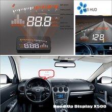 Для Mazda 3 Mazda3 седан 2013~-Автомобиль HUD Дисплей-безопасное вождение экранный проектор отражающее лобовое стекло