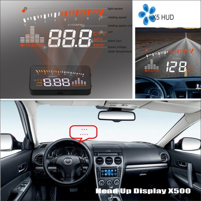 For Mazda 3 Mazda3 Sedan 2017 Car Hud Head Up Display Safe Driving Screen Projector Refkecting Windshield