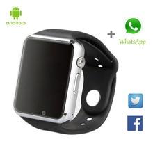 Bluetooth smart watch armbanduhr mtk6261d sport pedometer sim-karte smartwatch für android smartphone