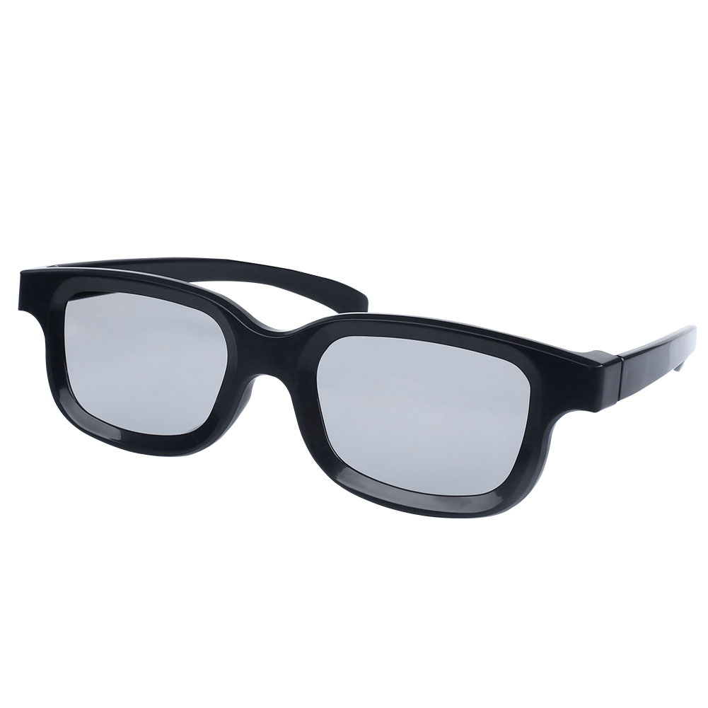 06e7c014ae2 High-quality Black Round Polarized 3D Glasses Movie DVD LCD Video Game  Theatre TV Theatre Movie Wholesale