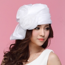 2017 French Style Women Derby Church Wedding Cocktail Evening Party Hat Skullies Beanies Sun Cap Berets
