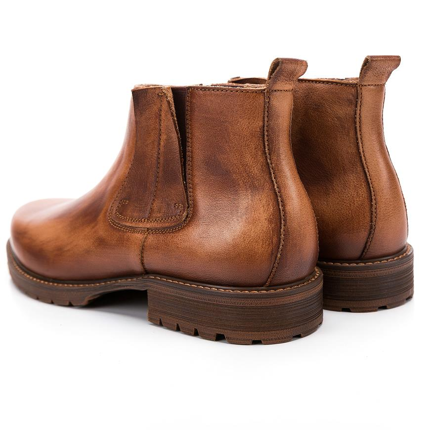 Herbst 2018 Arbeiten Berg Oxford Hohe Chelsea Schuhe Echte Männer Leder Stiefel brown Coffee Gray Qualität Stiefeletten Vintage rpTwqrd