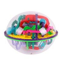 299 ebene 3D Magie Maze Ball Herausforderung Spiel Spielzeug Perplexus magische Intellekt Kugeln Kinder IQ Balance Fokus Track Puzzle Spielzeug 25