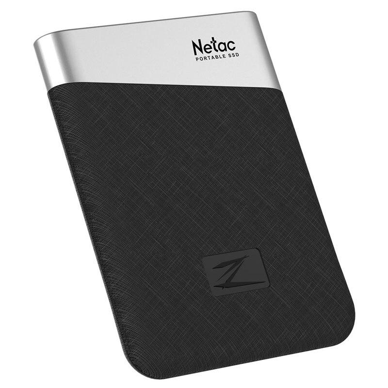 Disque dur externe de disque dur externe de stockage d'usb 240 Z6 de Netac 480 gb 960 gb 3.1 gb pour le jeu d'ordinateur Portable