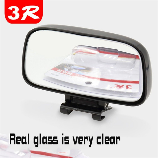 Square Wide Angle Side Rear view Mirror Car rearview blind spot mirror Real glass Suitable for all kinds of rearview mirrors 4