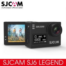 Original SJCAM SJ6 LEGEND 4K 24fps Ultra HD Notavek 96660 Waterproof Action Camera 2.0″ Touch Screen Remote Sports DV RAW Photo