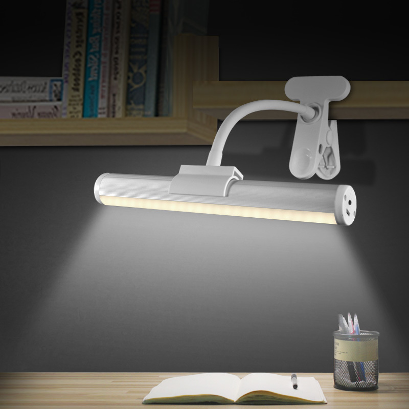 Dormitory Clip LED Desk Lamp College Student Dorm Study Table Lamp Desk  Bedside Eyeshield Read Read Book Lamp Za326445 In LED Indoor Wall Lamps  From Lights ...