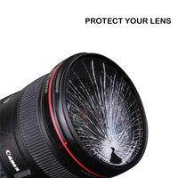 "d3500 סוני baodeli dslr BAODELI DSLR מצלמה עדשה Filtro UV מסנן 49mm 37 מ""מ 40.5 43 46 52 55mm 58mm 62 72 77mm 82 מ""מ של ניקון D3500 Canon סוני A6000 (1)"
