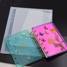 Notebook cover Silicone Mold Resin Mould handmade DIY Jewelry Making epoxy resin molds