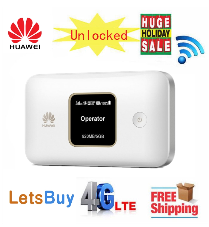 Débloqué Huawei E5785 4G LTE Cat6 routeur WiFi mobile Hotspot WiFi avec batterie 3000 mAh PK E5787 MF970
