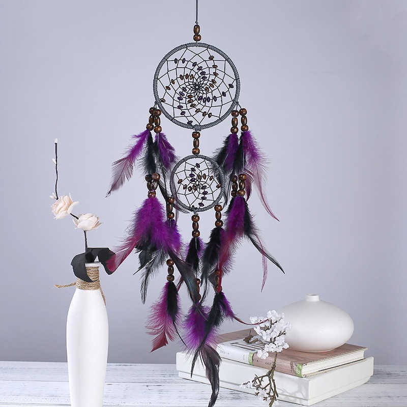 2018 New Home Wind Chime Pendant Wall Window Dream Catcher Creative Wall Decoration Bedroom Living Room Decoration Ornaments