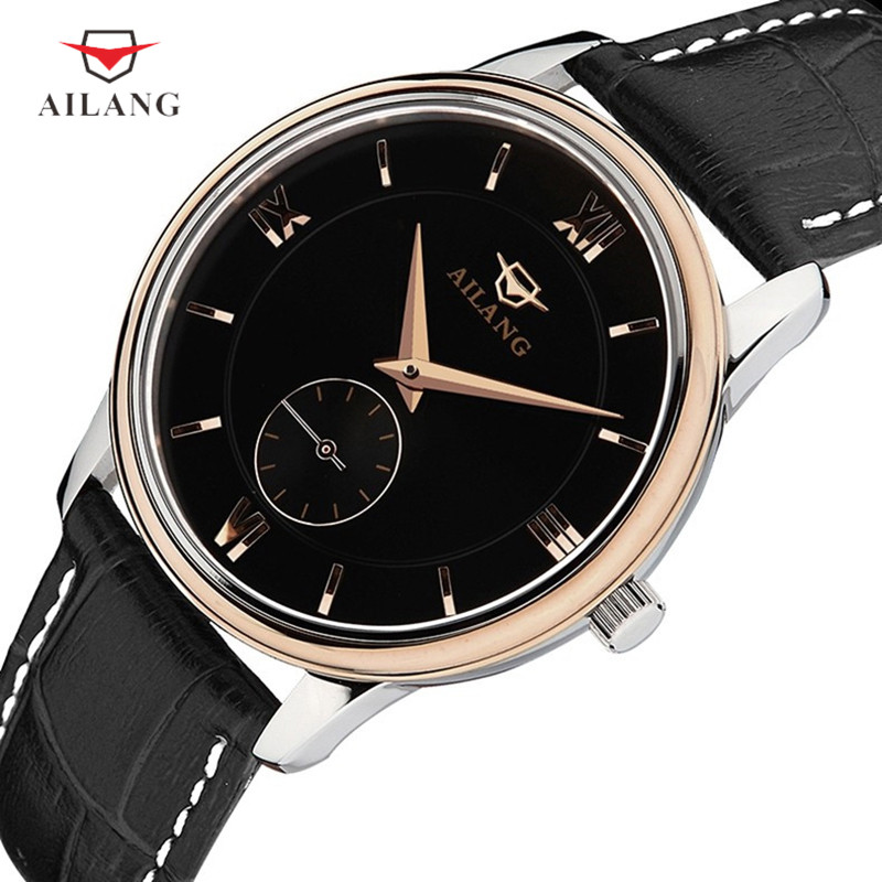 Classic Business Stylish Men Automatic Watches Mechanical Roman Number Dress Wrist watch Waterproof Real Leather Watch RelogiosClassic Business Stylish Men Automatic Watches Mechanical Roman Number Dress Wrist watch Waterproof Real Leather Watch Relogios