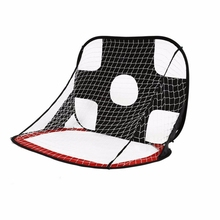 Foldable Football Gate Net Goal Extra-Sturdy Portable Soccer Ball Practice For Children Students Training