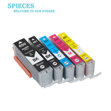 цена на LuoCai PGI-650 CLI-651 Compatible Ink Cartridges For Canon PIXMA IP7260 MG5460 MX726 MX926 MG6460 MG5560 PGI650 CLI651 printers