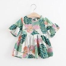 Baby Girls Dress Bohemian Style Kids Dresses For Princess Newborn Toddler Tutu Mini Shirt New