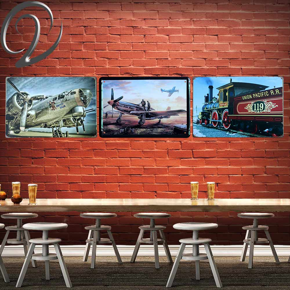 Union Pacific 119 Metal Painting Poster Man Cave Wall