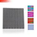 WS2812B WS2812 LED del Pannello Digitale Flessibile Matrice 16*16 256 Pixel Indirizzabili Individualmente DC5V 5050 Completo di RGB di Colore di Sogno UW