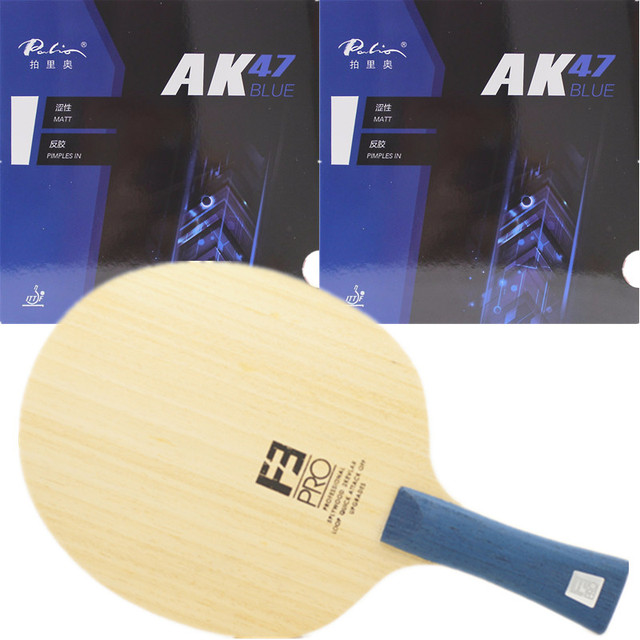 Sanwei F3 PRO (5+2 ALC, Premium Ayous Surface, OFF++) Arylate Carbon With Palio AK47 Blue