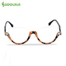 Очки для чтения «кошачий глаз» с полуободковой оправой для мужчин и женщин