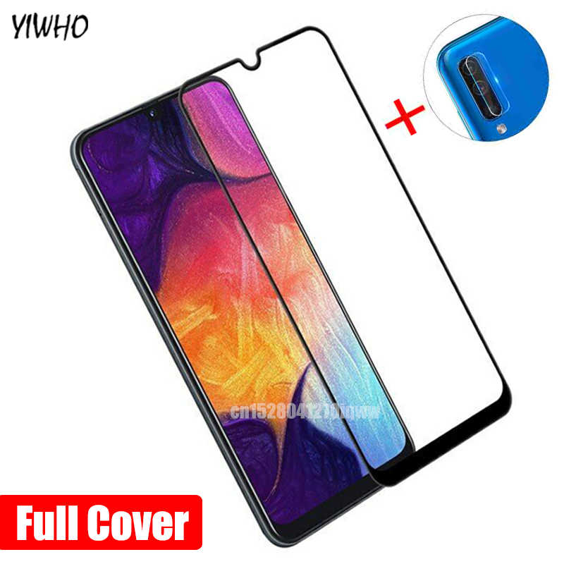 For Samsung A50 Tempered Glass Camera Lens Film & Protective Glass For Samsung Galaxy A70 2019 Screen Protector A 50 70 50A 70A