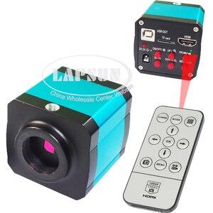 14MP 1080P CMOS HDMI HD USB выход промышленная лаборатория pcb паяльный микроскоп камера C-mount объектив TF карта видеорегистратор DVR