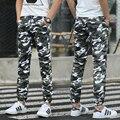 Venda quente 2016 Homens Casuais Calças Calças de Camuflagem Do Exército Hip Hop Marca de Qualidade Legal Roupas Camo Moda Calças Militares